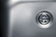 Stainless steel sink Stock Photos