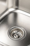 Steel sink Royalty Free Stock Photo