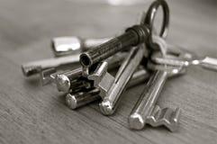 Stainless Steel Skeleton Key Stock Image