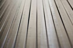 Stainless steel slat 007 Stock Images
