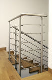 Stainless steel stair Stock Photo