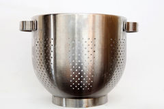 Stainless steel strainer  Stock Image