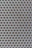 Stainless steel strainer. Cut out stainless steel strainer Stock Photography