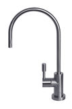 Stainless steel tap. Royalty Free Stock Images