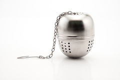 Stainless Steel Tea Infuser Royalty Free Stock Photo