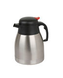 A stainless steel tea pot Royalty Free Stock Image