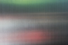 Stainless steel texture background with reflection Royalty Free Stock Photos