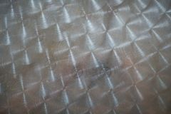 Stainless steel texture. Background, floor surface Stock Photo