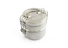 Stainless Steel Tiffin Box Royalty Free Stock Image