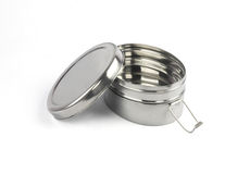 Stainless Steel Tiffin Box Stock Image