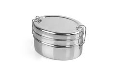 Stainless Steel Tiffin Box Stock Photos