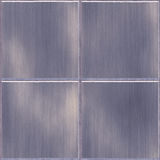 Stainless Steel Tiles Stock Photo