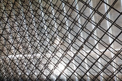 Stainless steel truss roof Royalty Free Stock Image