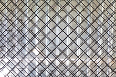 Stainless steel truss roof Stock Photo