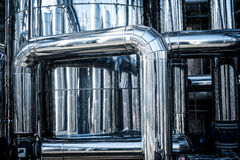 Stainless steel tube plant Stock Photo