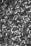 Stainless steel tubes Stock Image