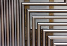 stainless steel tubes Stock Photos