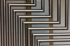 stainless steel tubes Royalty Free Stock Photo