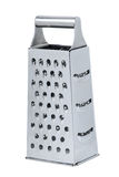 Stainless steel vegetable grater Royalty Free Stock Image
