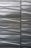 Stainless Steel wall Stock Photo