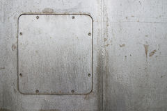 Stainless. Steel windows of some stores Stock Photo