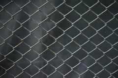 Stainless steel wire mesh with rust. Background. stock photo