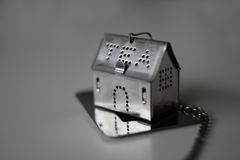 Stainless still Tea house tea infuser for brewing tea Stock Image