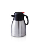Stainless tea pot Royalty Free Stock Images