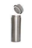 Stainless thermos Royalty Free Stock Image