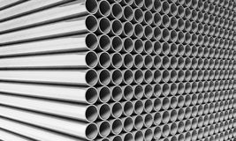 Stainless tube Royalty Free Stock Photos