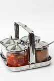 Stainless ware Stock Photo