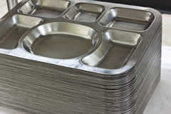 Stainless ware Royalty Free Stock Image