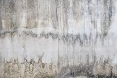 Stains on cement walls, Smudge on old walls royalty free stock photos