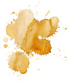 Stains of coffee royalty free stock photos