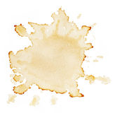 Stains of coffee stock image