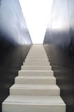 Stair. This ia a stair up to the space royalty free stock photos