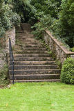 The stair. The old srairs in park Royalty Free Stock Image