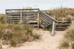 Stair Access to Beach First Landing State Park Royalty Free Stock Photography
