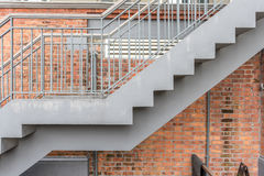 Stair with brick royalty free stock images