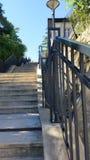Stair& x27; calle de s fotografía de archivo