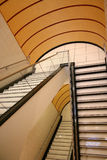 Stair case. Modern and luxurious shopping mall interiors Royalty Free Stock Photos