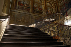 Stair Case. An atmospheric shot The Kings stair case at Kensington Palace Royalty Free Stock Image