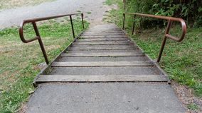 park Stair case Royalty Free Stock Images