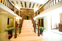 Stair case foyer Stock Photography