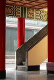 Stair in Chinese Temple. Stair in Chinese Temple, Asian Architecture, Taiwan Stock Photography