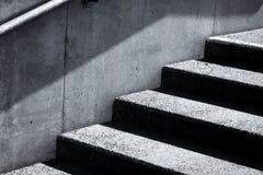 Stair concrete Stock Image