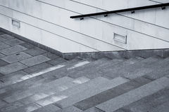 Stair concrete Royalty Free Stock Image