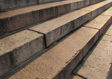 Stair concrete Royalty Free Stock Images