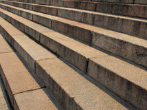 Stair concrete Royalty Free Stock Photography