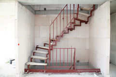 Stair Construction Royalty Free Stock Images